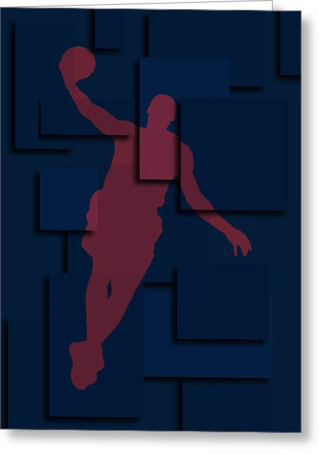 Lebron Photographs Greeting Cards - Cleveland Cavaliers Lebron James 2 Greeting Card by Joe Hamilton