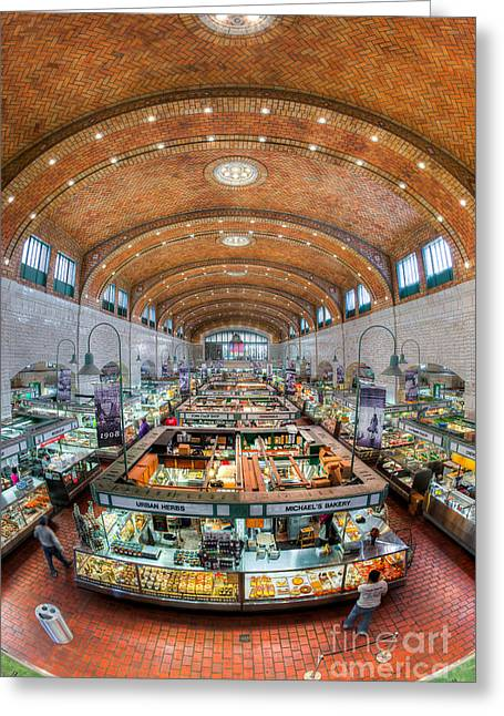 Ethnic Food Greeting Cards - Cleveland West Side Market I Greeting Card by Clarence Holmes