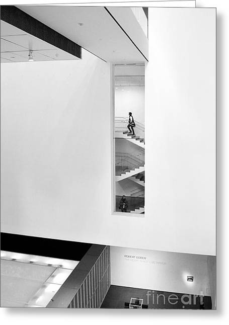New Greeting Cards - Climbing the stairs Greeting Card by RicardMN Photography