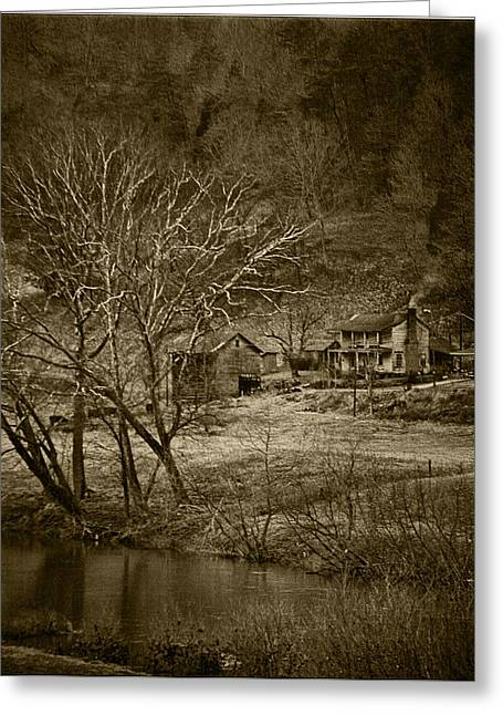 Tennessee River Greeting Cards - Clinch River Farm Greeting Card by Randy Ball