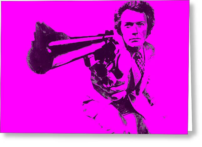 Harry Callahan Greeting Cards - Clinton Eastwood 5a Greeting Card by Brian Reaves