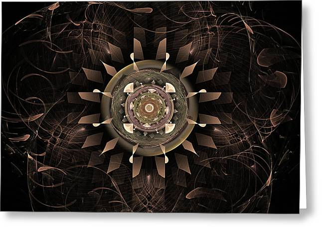 Clockwork Greeting Cards - Clockwork Greeting Card by John Edwards