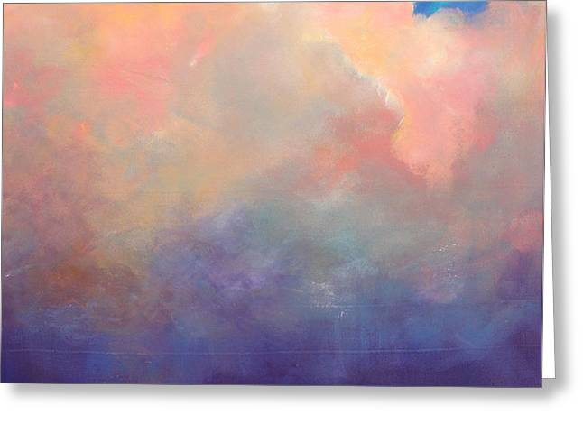 Cloud Light Greeting Card by Toni Grote