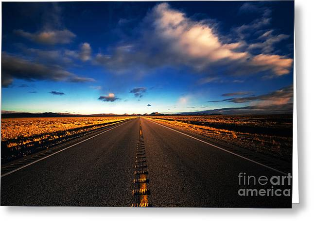 Scenic Greeting Cards - Cloud Mover Greeting Card by Jon Olmstead