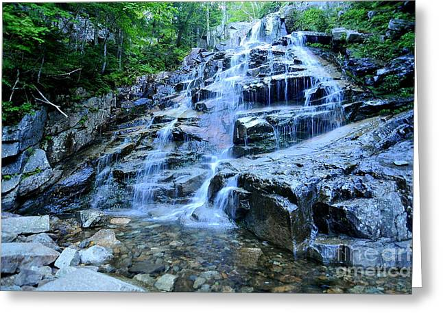 Cloudland Falls Greeting Card by Catherine Reusch  Daley