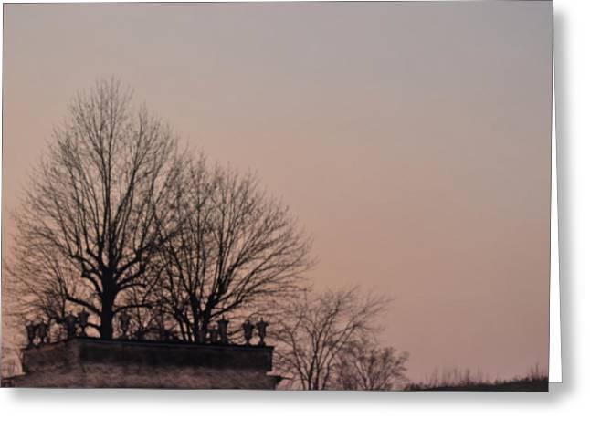 Breezy Greeting Cards - Cloudless Sky  Greeting Card by Svetlana Neskovska