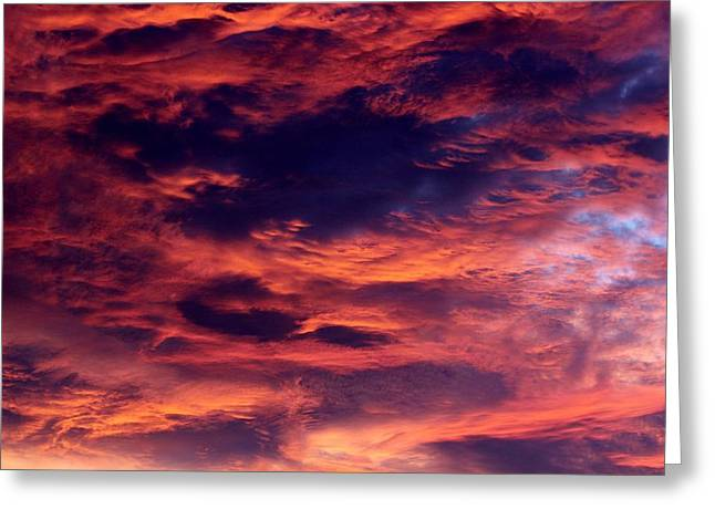 Winter Storm Greeting Cards - Clouds 071215A Greeting Card by Edward Dobosh