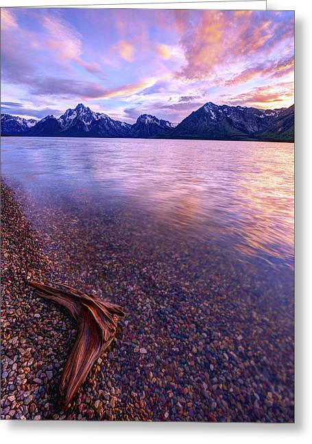 Pebbles Greeting Cards - Clouds and Wind Greeting Card by Chad Dutson
