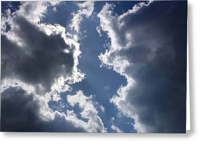 Overcast Day Greeting Cards - Clouds Greeting Card by Bernard Jaubert