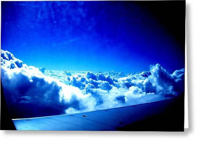Arial Greeting Cards - Clouds Greeting Card by Mike Grubb