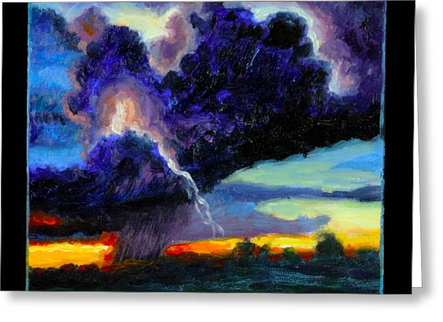 Clouds Number Six Greeting Card by John Lautermilch