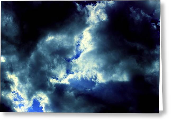 Turbulent Skies Greeting Cards - Clouds of Heaven by Earls Photography Greeting Card by Earl  Eells a