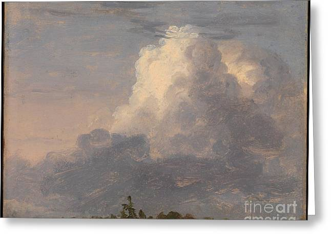 Thomas Cole Greeting Cards - Clouds Greeting Card by Celestial Images