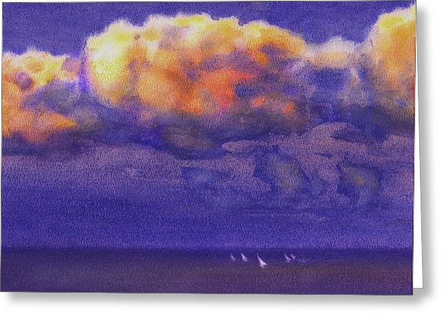 Valeriy Mavlo Greeting Cards - Clouds Greeting Card by Valeriy Mavlo