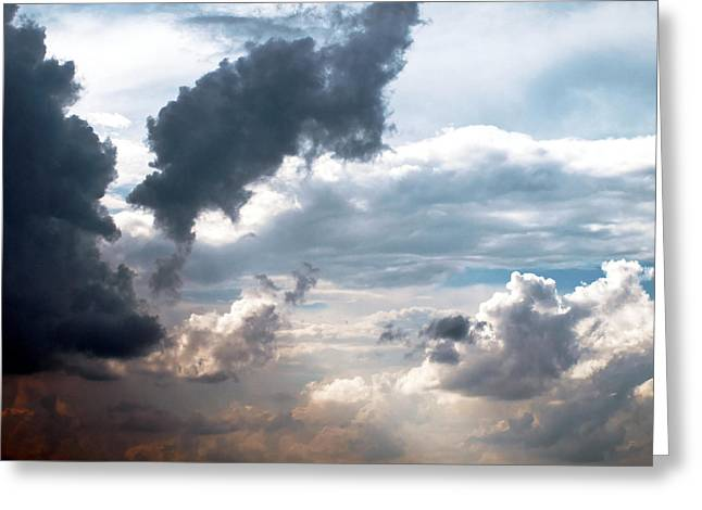 Cloudscape ... Nine Greeting Card by Tom Druin