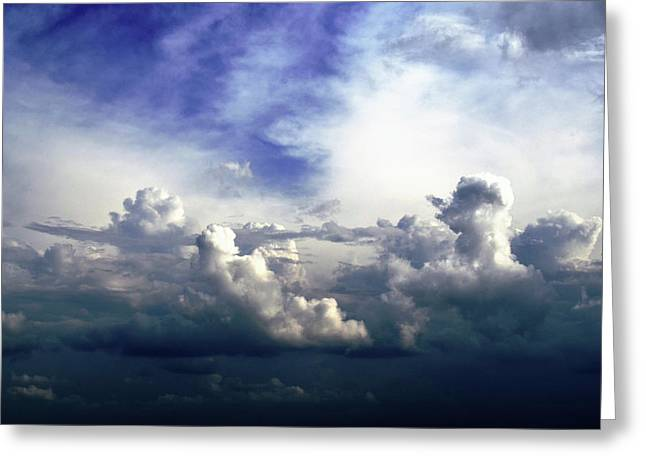 Cloudscape Fourteen Greeting Card by Tom Druin