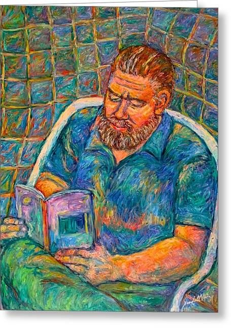 Portrait With Mountain Greeting Cards - Clyde Stage Four Greeting Card by Kendall Kessler