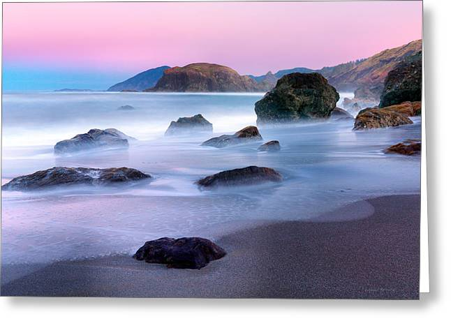 Coastal Atmosphere Greeting Card by Leland D Howard