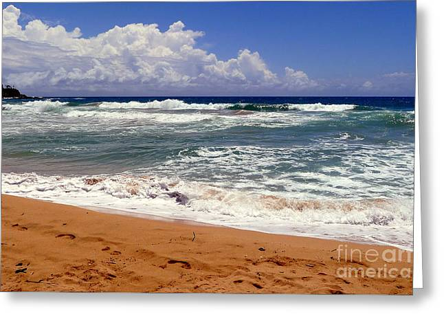 Beach Photography Greeting Cards - Coastal Charm Greeting Card by Melissa Cole