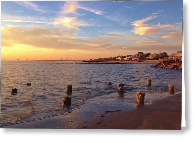 Coastal Living Greeting Card by M J