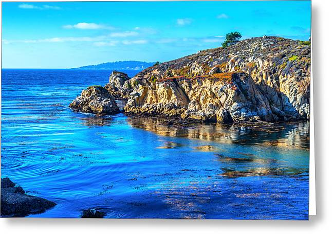 Coastal Seascape Greeting Card by Joseph S Giacalone