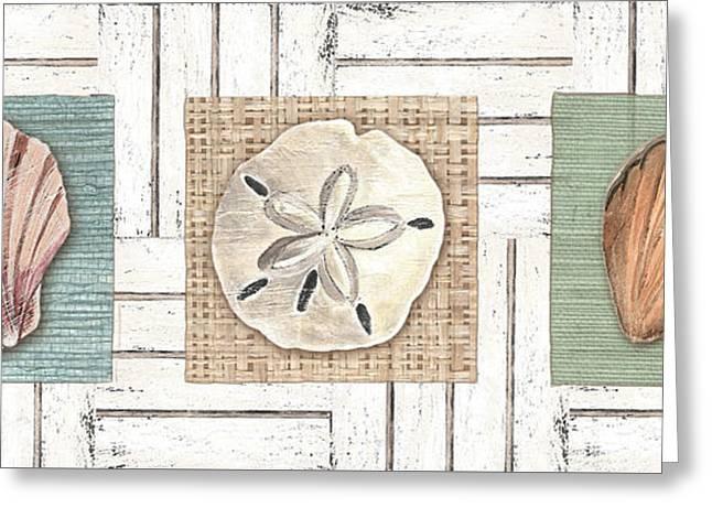 Coastal Shells 1 Greeting Card by Debbie DeWitt