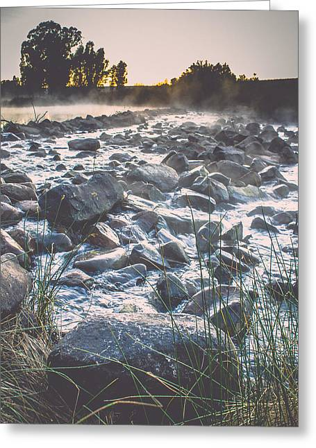 Photo Art Gallery Greeting Cards - Cobble Greeting Card by George Fivaz
