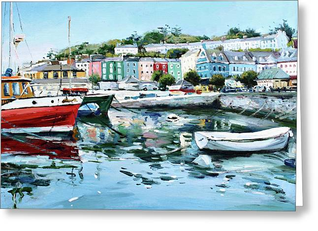 County Cork Greeting Cards - Cobh Harbour County Cork Greeting Card by Conor McGuire