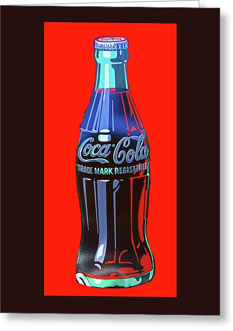 Coca Cola Greeting Card by Allen Beatty
