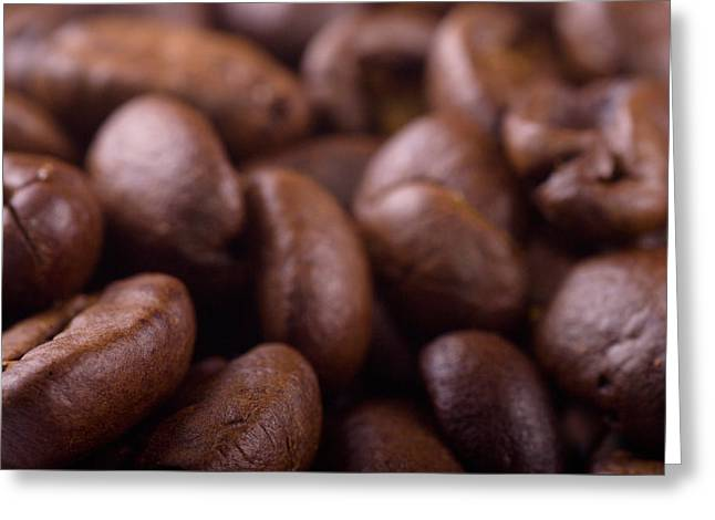 Coffe Greeting Cards - Coffe beans Greeting Card by Martin Capek