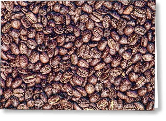 Interior Still Life Digital Greeting Cards - Coffee Boost Greeting Card by Yury Malkov