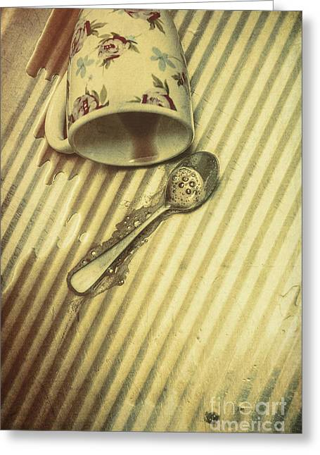 Coffee Break Up Greeting Card by Jorgo Photography - Wall Art Gallery