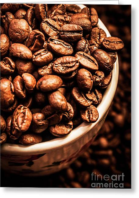 Coffee Cup Top Up Greeting Card by Jorgo Photography - Wall Art Gallery