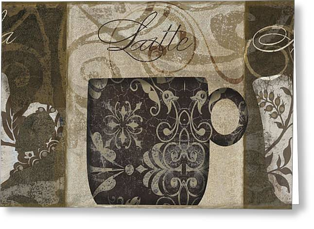Barista Greeting Cards - Coffee Flavors II Greeting Card by Mindy Sommers