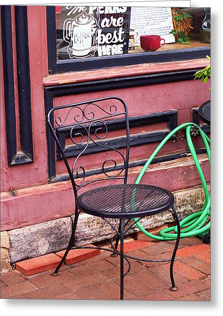 Historic Country Store Greeting Cards - Jonesborough Tennessee - Coffee Shop Greeting Card by Frank Romeo