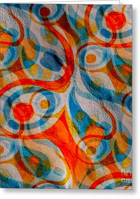 Stir Mixed Media Greeting Cards - Coffee Time Greeting Card by Barbara Moignard