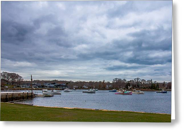 Cohasset Greeting Cards - Cohasset Cove Greeting Card by Brian MacLean