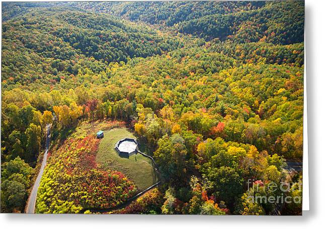 Georgia Nature Greeting Cards - Cohutta Overlook, Georgia Greeting Card by Byron Jorjorian