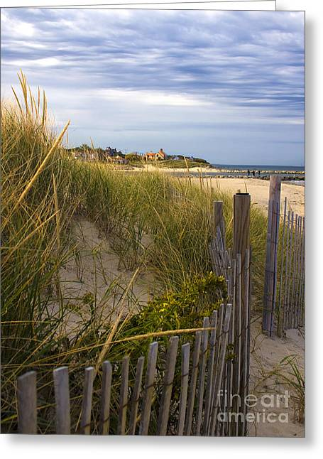 Cold Storage Beach Greeting Cards - Cold Storage Beach Greeting Card by Deb Koskovich