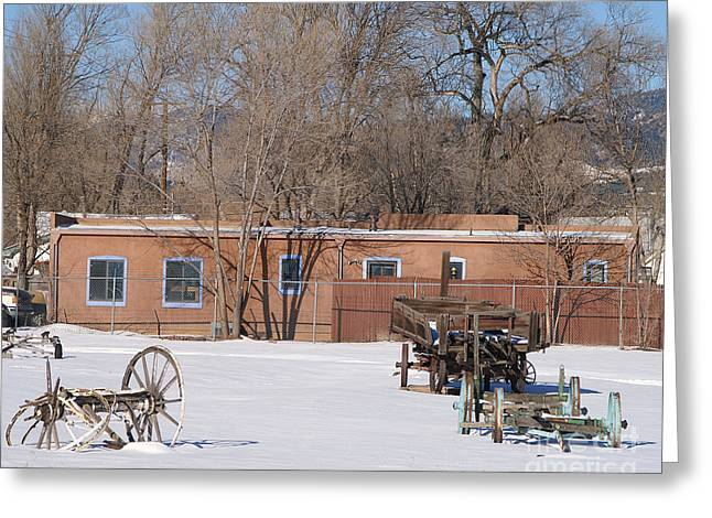 Big Chill Greeting Cards - Cold Storage Greeting Card by Jack Norton