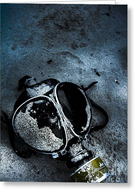 Cold War Casualties Greeting Card by Jorgo Photography - Wall Art Gallery