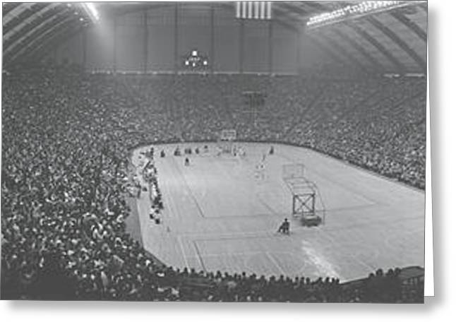 Cole Field House University Of Maryland Greeting Card by Panoramic Images