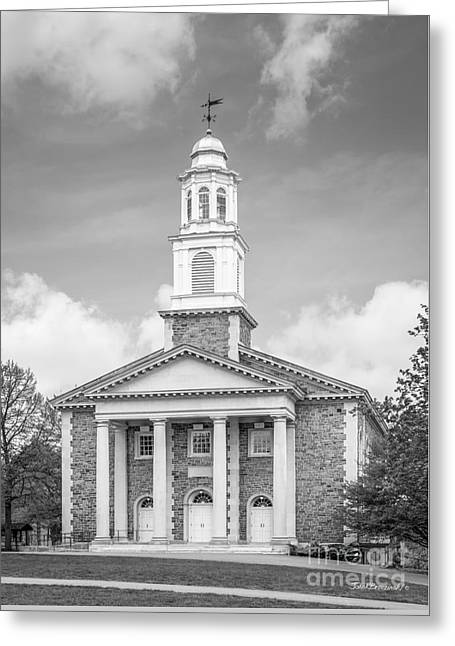 Colgate University Chapel House Greeting Card by University Icons
