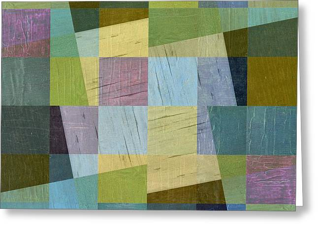 Collage 26 Greeting Card by Michelle Calkins