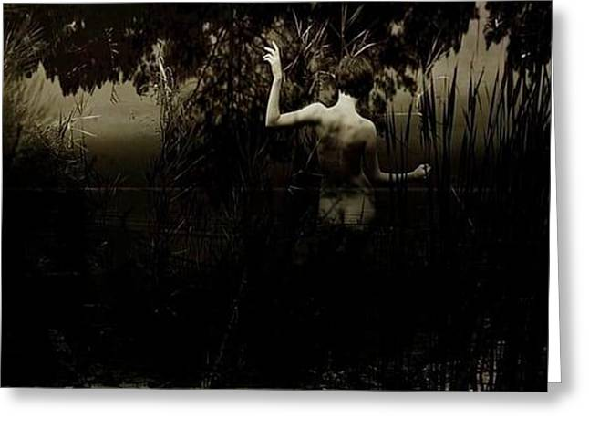 Installation Art Greeting Cards - Collection Video art Greeting Card by Geert Wachtelaer