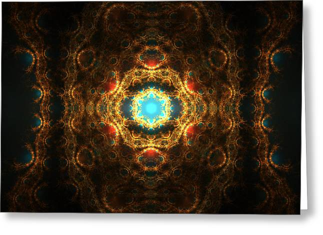Collective Consciousness Greeting Card by John Moran