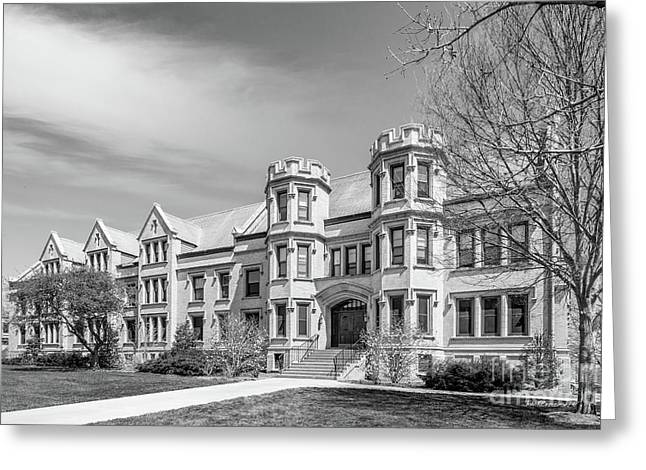 College Of Wooster Holden Hall Greeting Card by University Icons