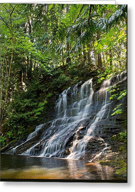 Colliery Greeting Cards - Colliery Falls Greeting Card by Randy Hall