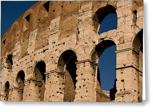 Colliseum 15 Greeting Card by Art Ferrier