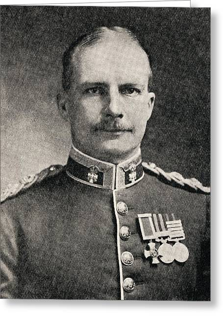 Brigade Greeting Cards - Colonel Ewen George Sinclair-maclagan Greeting Card by Vintage Design Pics